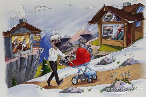 Biglietto di Natale di Bernie Ecclestone