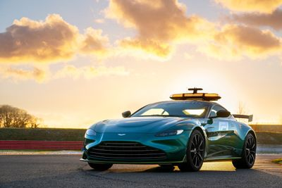 Aston Martin safety car unveil