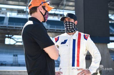 Test de Jimmie Johnson en IndyCar