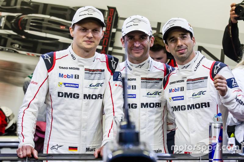 Володарі поул-позішн #2 Porsche Team Porsche 919 Hybrid: Ромен Дюма, Ніл Яні