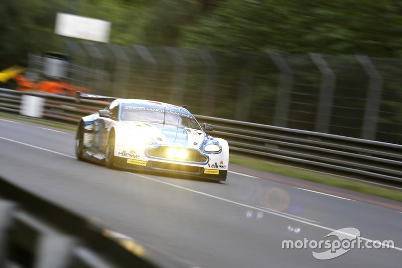 36th: #99 Aston Martin Racing Aston Martin Vantage: Andrew Howard, Gary Hirsch, Liam Griffin