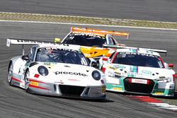 #99 Precote Herberth Motorsport Porsche 911 GT3 R: Robert Renauer, Martin Ragginger; #29 Montaplast