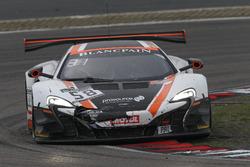 #58 Garage 59, McLaren 650 S GT3: Duncan Tappy, Rob Bell, Côme Ledogar