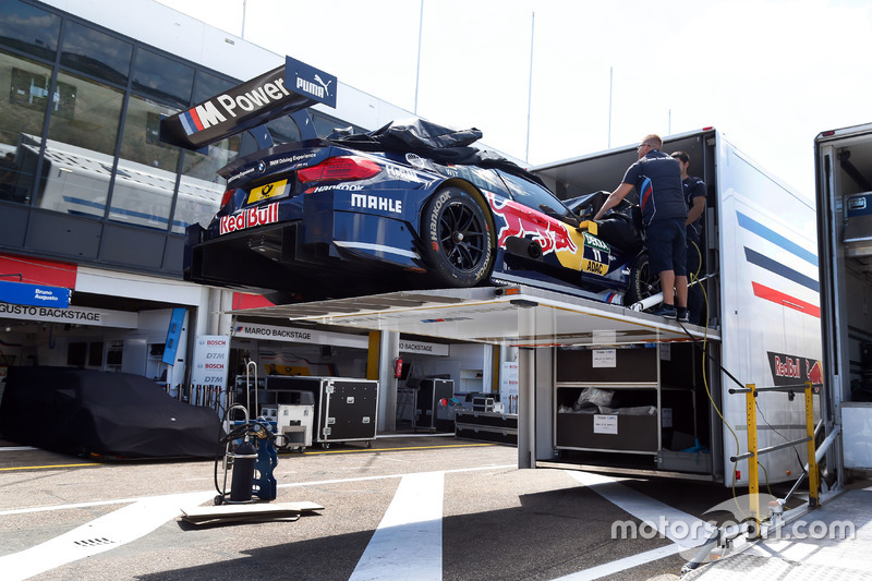 The car of Marco Wittmann, BMW Team RMG, BMW M4 DTM