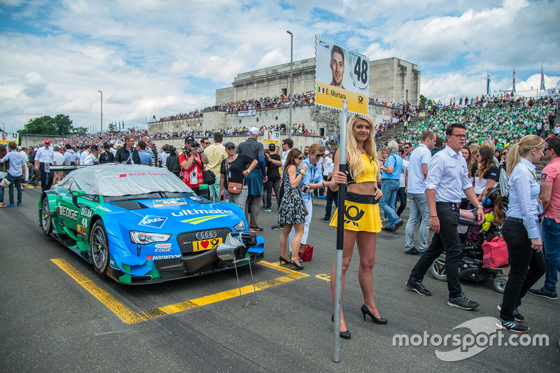 Grid kızı, Edoardo Mortara, Audi Sport Team Abt Sportsline, Audi RS 5 DTM