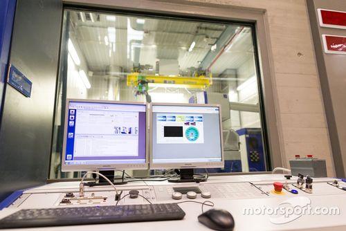 Vista stabilimento Petronas