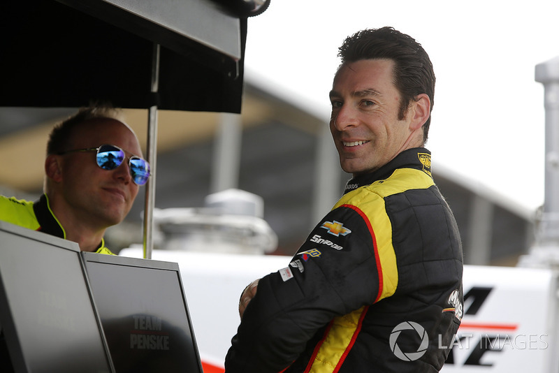 Simon Pagenaud is a proven champion but a winless 2018 has brought self-imposed pressure.