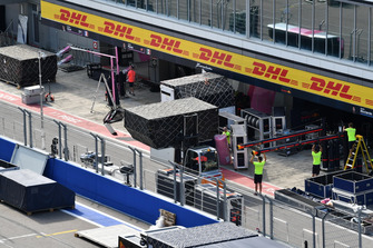 Racing Point Force India F1 Team freight