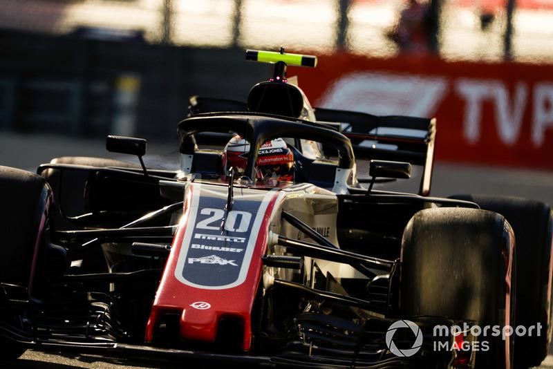 5: Кевин Магнуссен, Haas F1 Team VF-18, 1'33.181