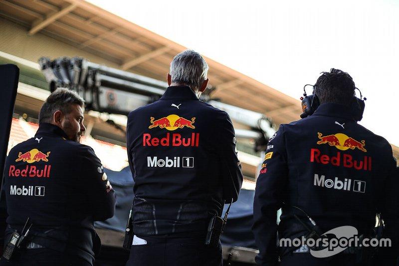 Membri del team Red Bull Racing