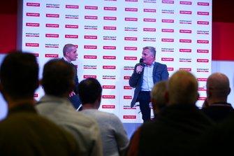 Johnny Herbert talks to Stuart Codling on the Autosport Stage
