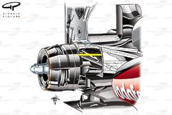 McLaren P4/28 rear brake duct