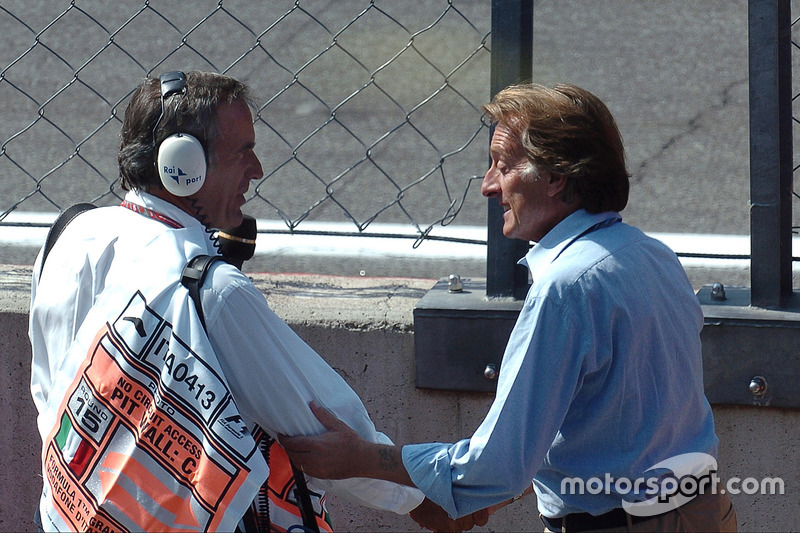 Giorgio Piola y Luca di Montezemolo, Ferrari