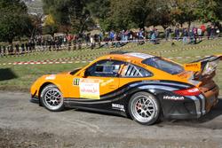 Marc Valliccioni, Sandra Arlettaz-Schmidly, Porsche 997 GT3 Cup RGT, Lugano Racing Team