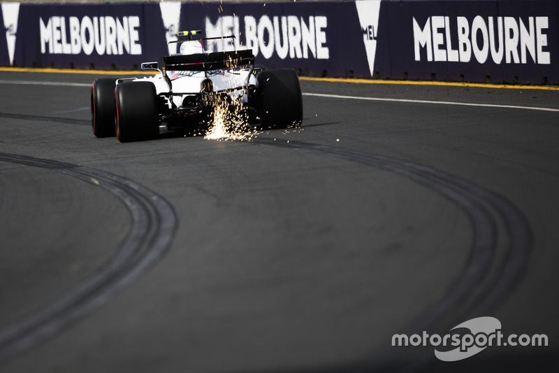 Ф1, Мельбурн 2017: Ленс Стролл, Williams FW40