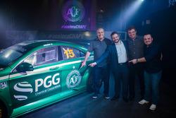 Mercedes-Benz Challenge con la decoración del club de futbol Chapecoense