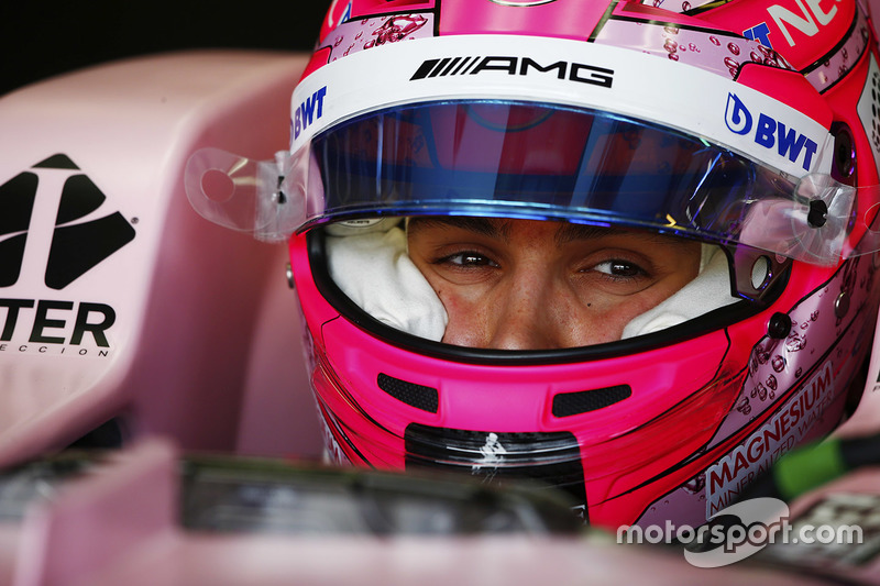 Esteban Ocon, Force India VJM10