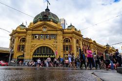 La Flinders Street Station