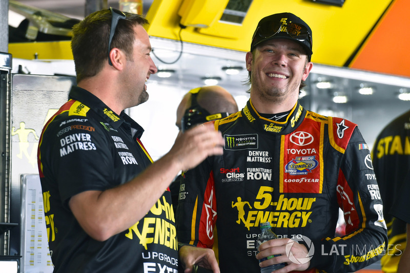 Erik Jones, Furniture Row Racing, Toyota; Chris Gayle