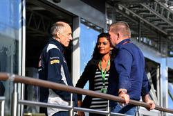 Керівник Scuderia Toro Rosso STR12 Франц Тост, Йос Ферстаппен