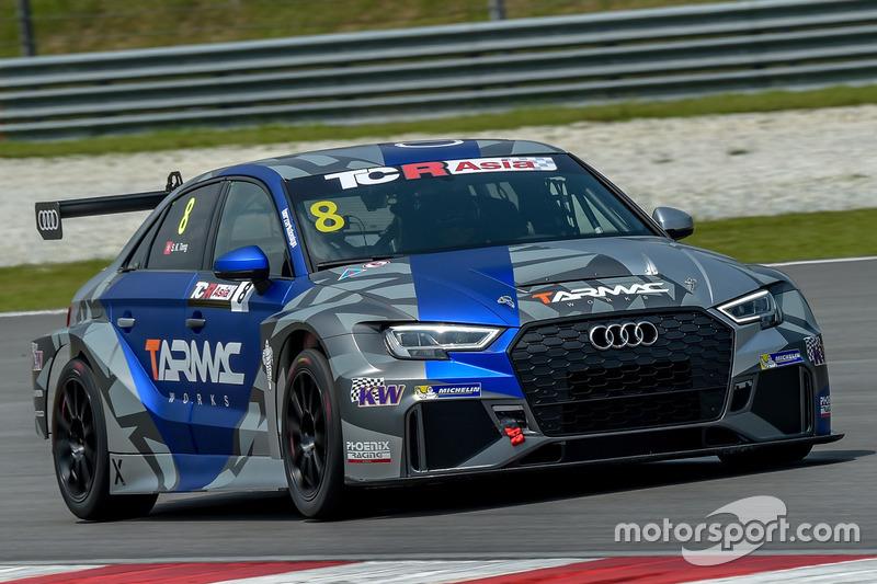 Tong Siu Kau, Phoenix Racing Asia, Audi RS3 TCR