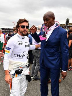Fernando Alonso, McLaren y Frank Bruno