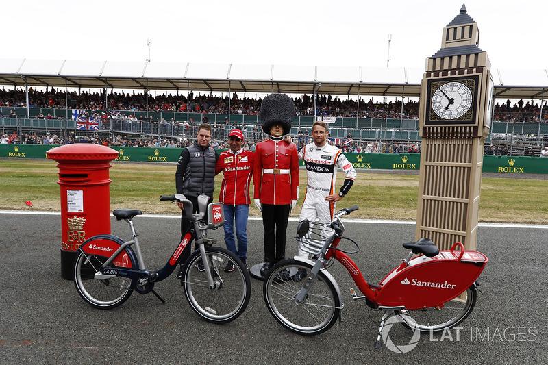 Стоффель Вандорн, McLaren, Марк Жене, Ferrari, Дженсон Баттон, McLaren