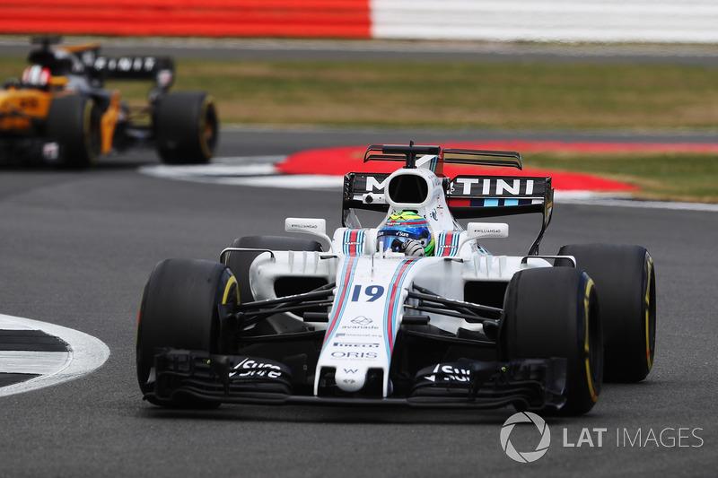 Феліпе Масса, Williams FW40, Ніко Хюлькенберг, Renault Sport F1 Team RS17