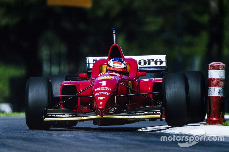 1996 San Marino GP, Ferrari F310