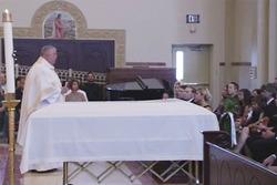 Verabschiedung von Nicky Hayden in der Saint-Stephen-Kathedrale
