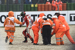Jorge Lorenzo, Ducati Team crash