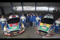 Murat BOSTANCI, Onur VATANSEVER, Ford Fiesta R5, Buğra BANAZ, Burak ERDENER Ford Fiesta R2, Castrol Ford Team Türkiye