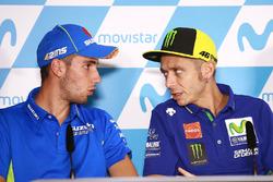 Alex Rins, Team Suzuki MotoGP, Valentino Rossi, Yamaha Factory Racing