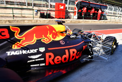 Max Verstappen, Red Bull Racing RB13, aero sensor