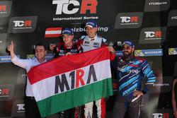 Podium: 1. Roberto Colciago, M1RA, Honda Civic TCR; 2. Attila Tassi, M1RA, Honda Civic TCR; 3. Stefano Comini, Comtoyou Racing, Audi RS3 LMS; Norbert Michelisz