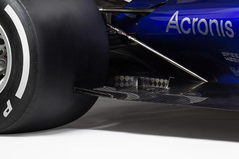 Détails du fond plat de la Toro Rosso STR12