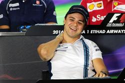 Felipe Massa, Williams en la conferencia de prensa FIA