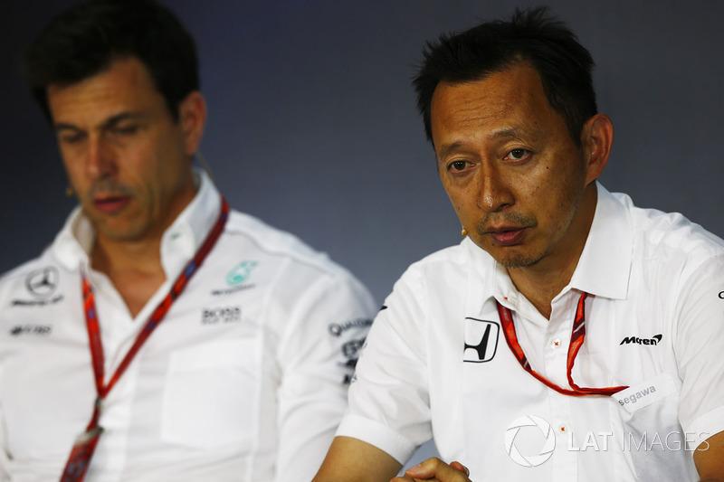 Yusuke Hasegawa, Honda, Toto Wolff, Mercedes-Teamchef
