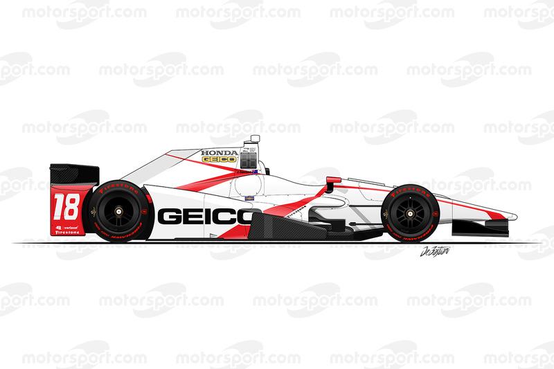 #18 - James Davison, Dale Coyne Racing Honda
