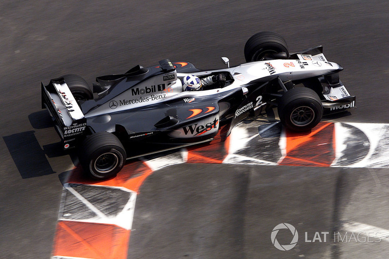 David Coulthard, McLaren MP4/15 (2000)