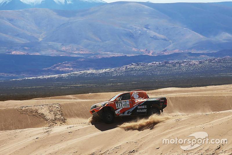 #317 Overdrive Racing Toyota: Ronan Chabot, Gilles Pillot
