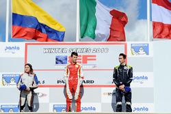 Podium: 1. Leonardo Pulcini, Campos Racing; 2. Tatiana Calderon, Teo Martin Motorsport; 3. Ferdinand