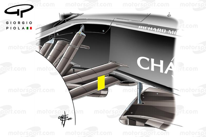 McLaren MP4-31 front suspension