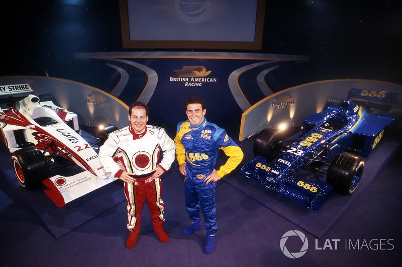 Jacques Villeneuve et Ricardo Zonta, British American Racing