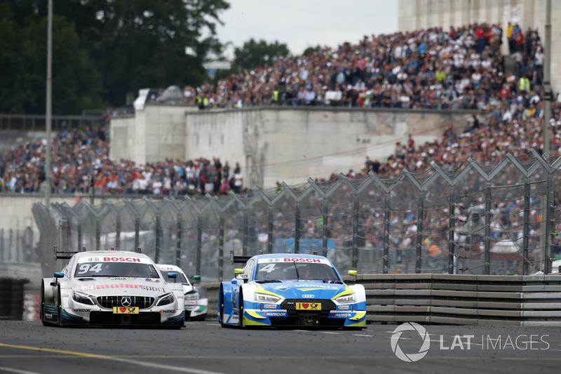 Robin Frijns, Audi Sport Team Abt Sportsline, Audi RS5 DTM, Pascal Wehrlein, Mercedes-AMG Team HWA, Mercedes-AMG C63 DTM