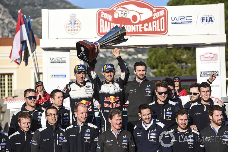 Ganadores, Sébastien Ogier, Julien Ingrassia, Ford Fiesta WRC, M-Sport Ford