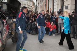 Carlos Sainz, Lucas Cruz, Peugeot Sport, Cristina Cifuentes, Community of Madrid President