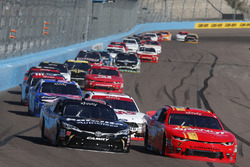 Christopher Bell, Joe Gibbs Racing Toyota, Justin Allgaier, JR Motorsports Chevrolet