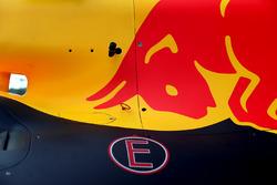 Het bodywork van de Red Bull Racing RB13
