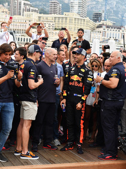 Max Verstappen, Daniel Ricciardo, Red Bull Racing, Adrian Newey, Red Bull Racing and Christian Horne